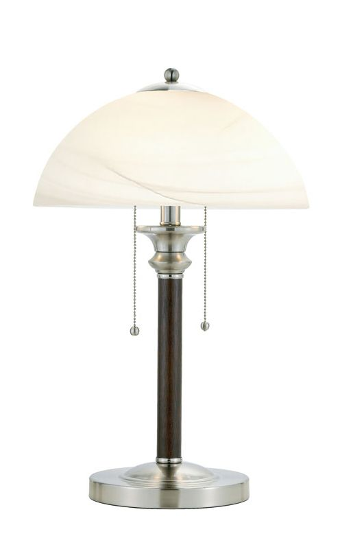 """Adesso 4050 Lexington 2 Light 64.5"""" Tall Buffet Table Lamp with"""