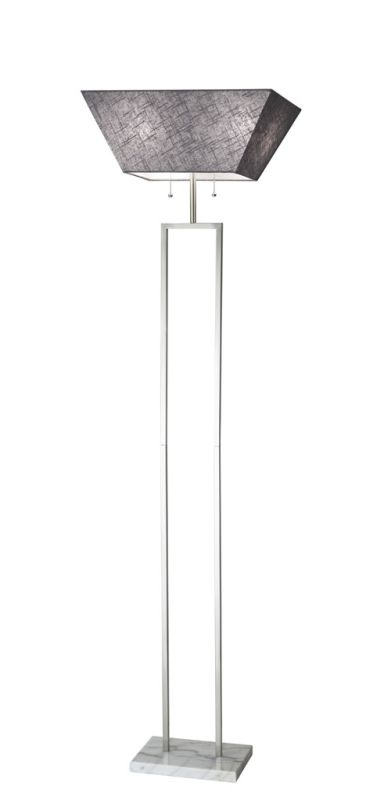 "Adesso 4169 Chambers 2 Light 25"" Tall Torchiere Floor Lamp with Sale $262.50 ITEM: bci2958763 ID#:4169-22 UPC: 798919416998 :"
