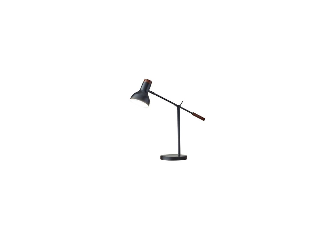 "Adesso 4253 Watson 1 Light 82"" Tall Boom Arm Desk Lamp with Metal"
