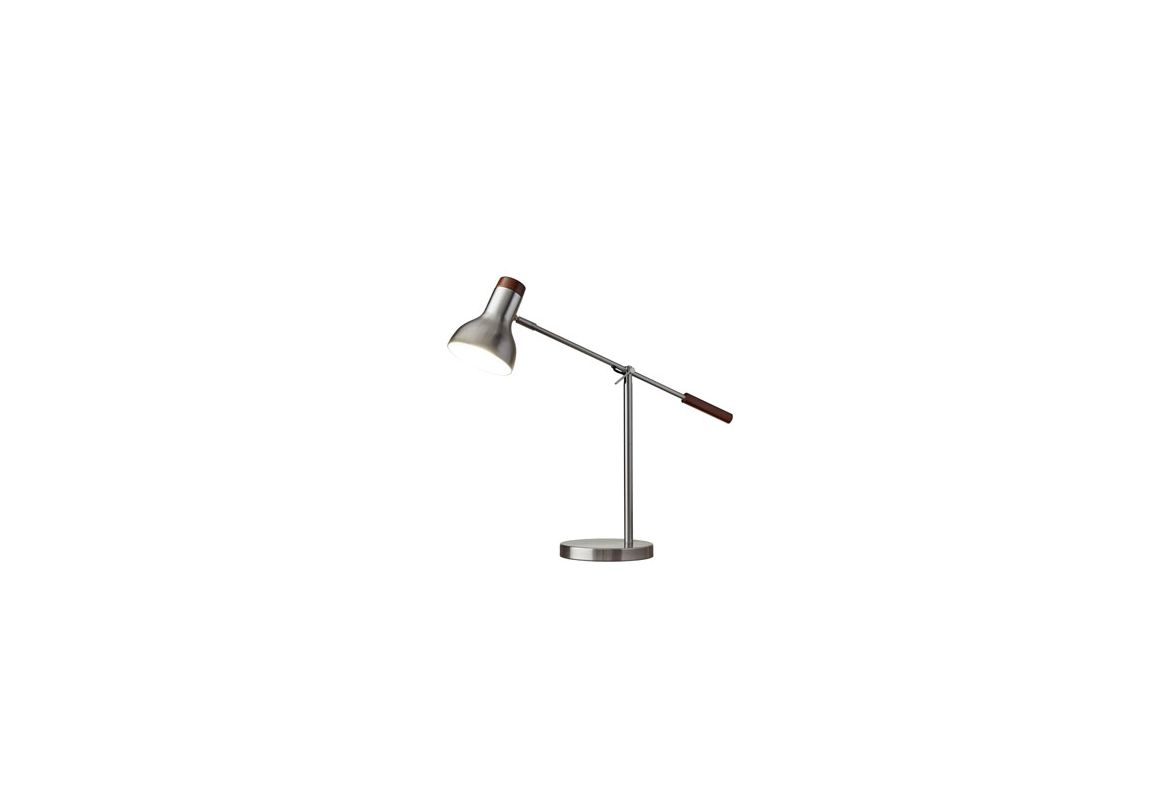 """Adesso 4253 Watson 1 Light 82"""" Tall Boom Arm Desk Lamp with Metal"""