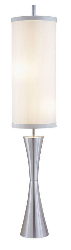 "Adesso 4505 Geneva 1 Light 27"" Tall Buffet Floor Lamp with Silk Sale $262.50 ITEM: bci2958684 ID#:4505-22 UPC: 798919450596 :"