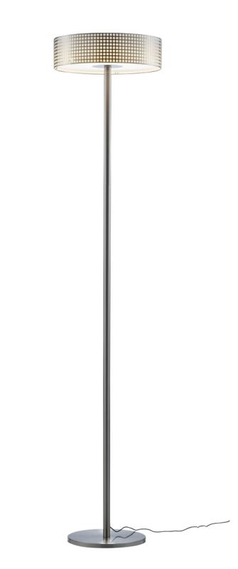 "Adesso 5164 Wilshire 1 Light 24.5"" Tall LED Torchiere Floor Lamp with"