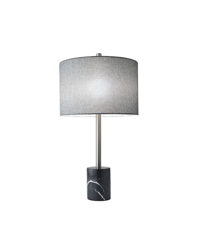 "Adesso 5280 Blythe 1 Light 68"" Tall Buffet Table Lamp with Linen Shade"