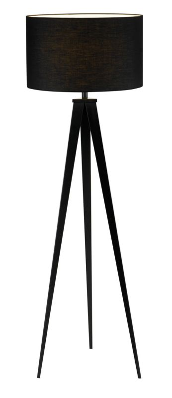 "Adesso 6424 Director Single Light 65"" Tall Tripod Floor Lamp with Sale $262.50 ITEM: bci1572410 ID#:6424-01 UPC: 798919642410 :"
