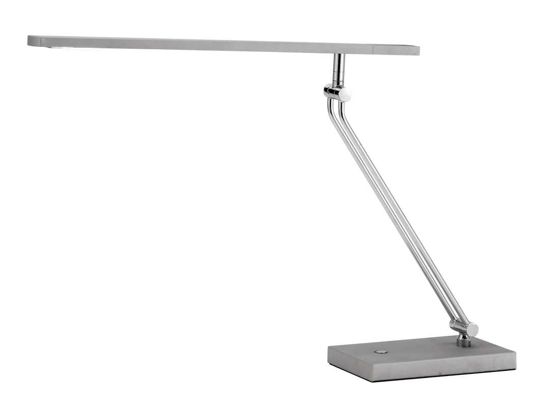 Adesso 3392 Saber 1 Light LED Desk Lamp Steel Lamps Swing Arm Lamps
