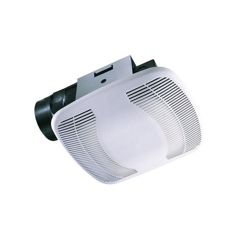 Air King BFQ110 110 CFM 3.5 Sone Exhaust Fan with Snap-In Installation