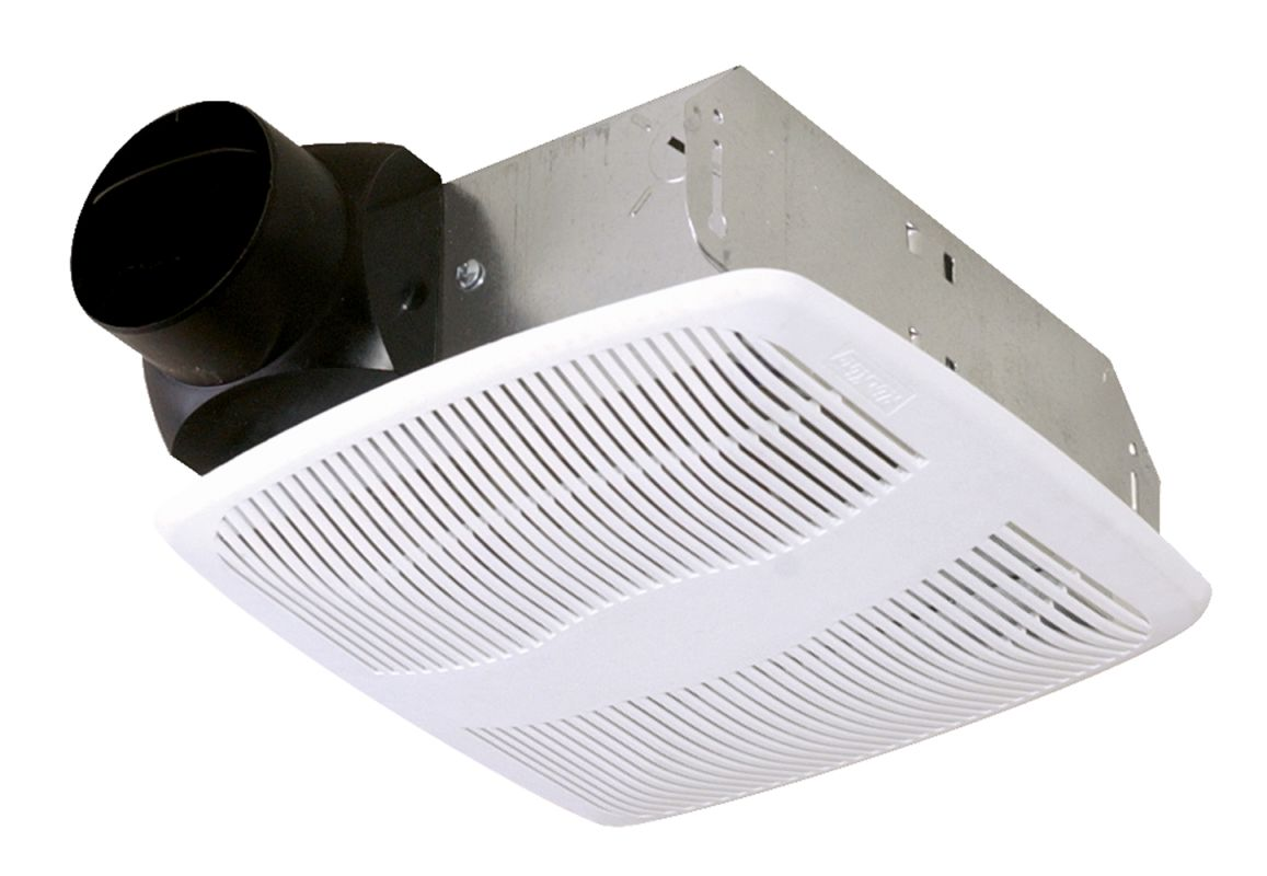 Air King AS50 50 CFM Quiet Bath Fan Only with 3.0 Sones White Fans