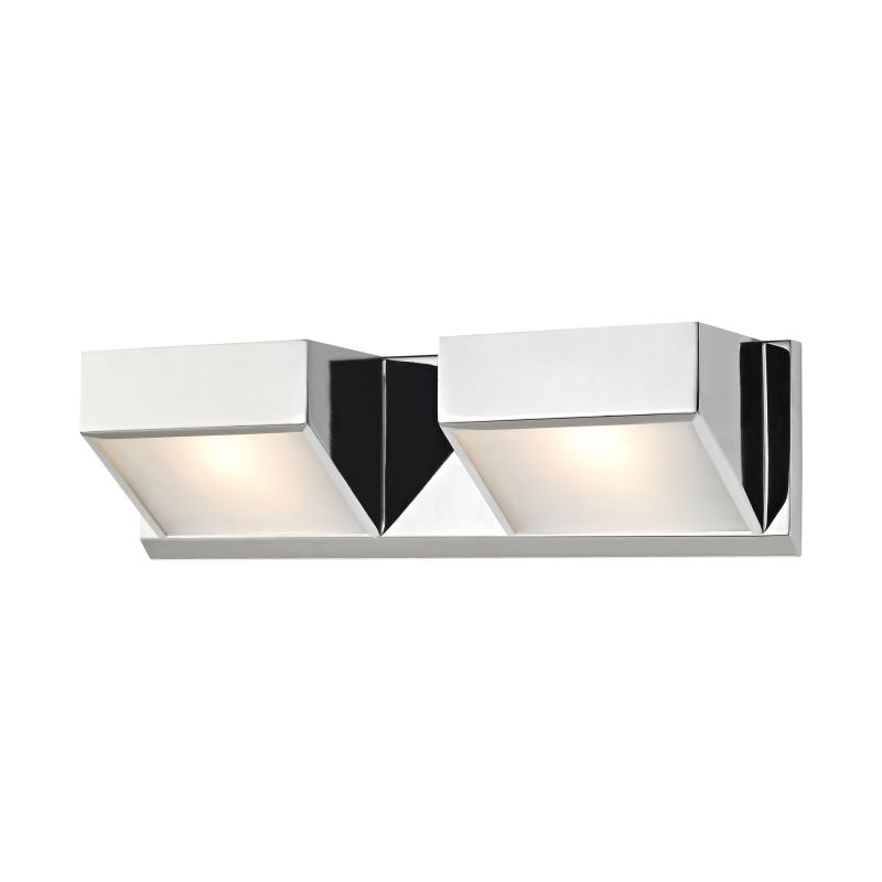 Alico BV352-5-15 2 Light Vanity Light with Frosted Glass Shade from