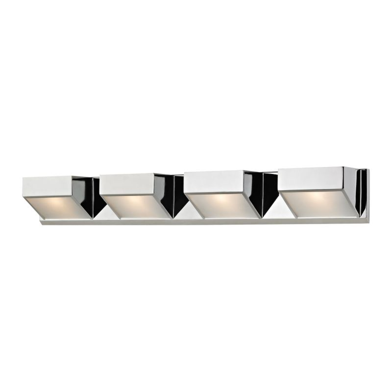 Alico BV354-5-15 4 Light Vanity Light with Frosted Glass Shade from