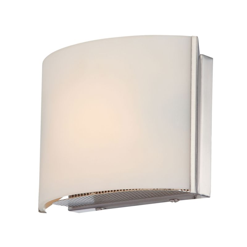 Alico BV6T1-10 Single Light ADA Compliant Bathroom Sconce with White