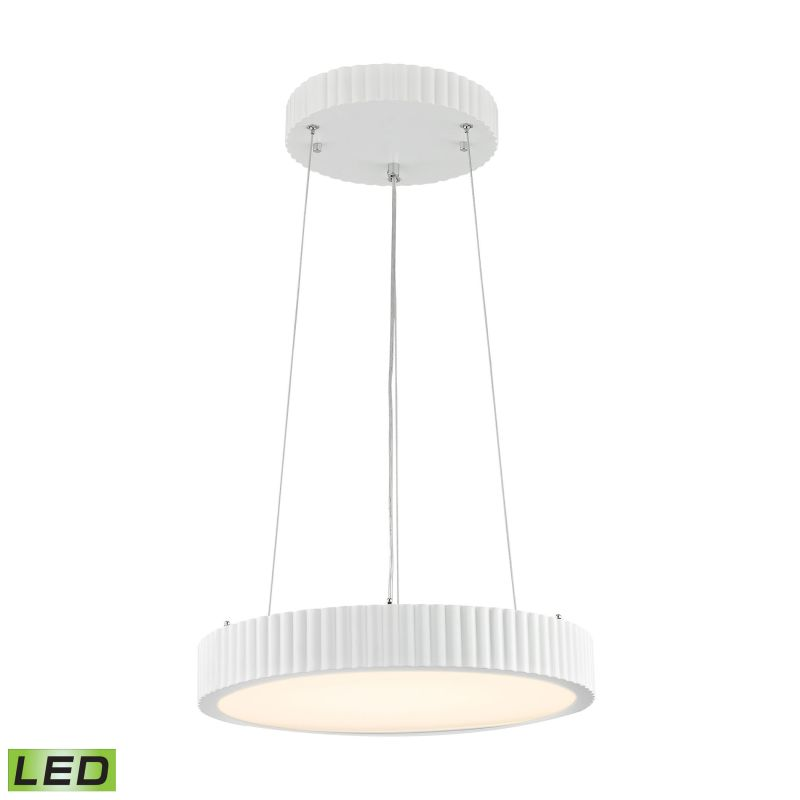 Alico LC602-10-30 Integrated LED Full Sized Pendant with Opal White
