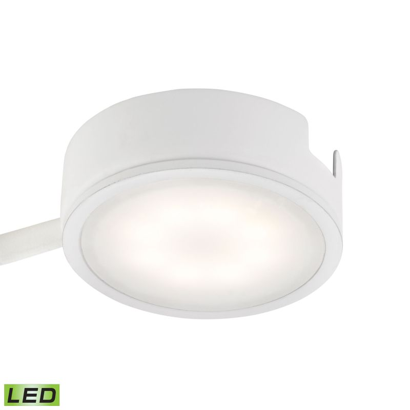 """Alico MLE301-5 Tuxedo 2"""" Integrated LED Under Cabinet Puck Light with"""