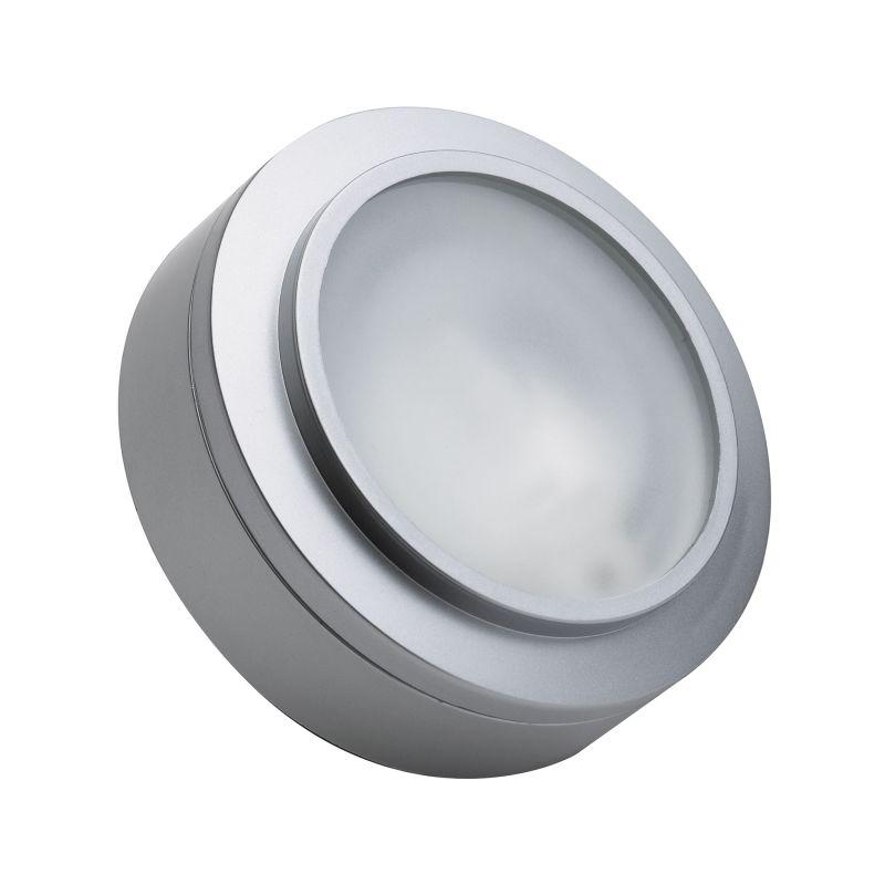 """Alico MZ401-5 Zeepuk 3"""" 18 Watt Under Cabinet Puck Light Stainless"""