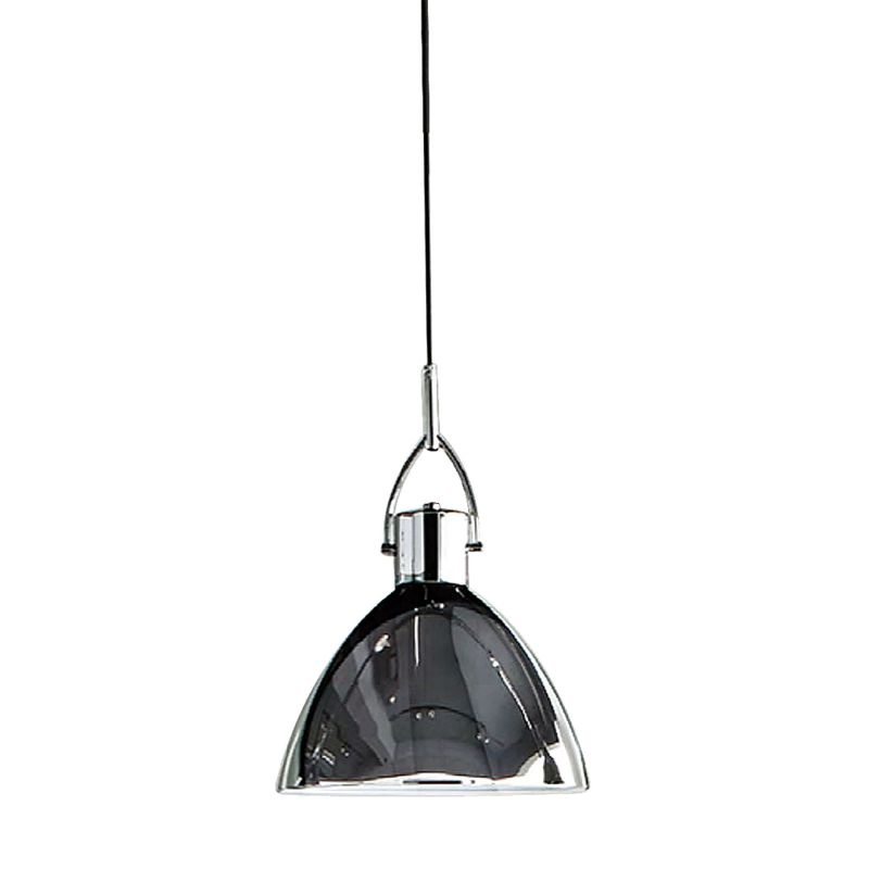 Alico PS8190-15-15 Single Light Full Sized Pendant with Chrome Glass