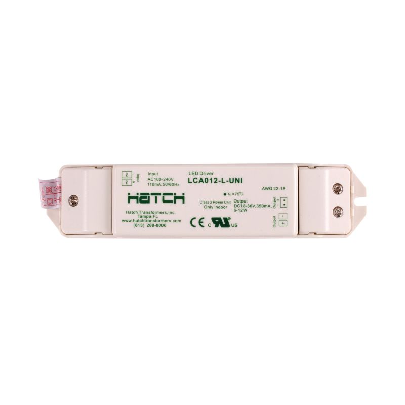 Alico WLE-D3 10 Watt 350mA Class II Electronic LED Driver White Indoor