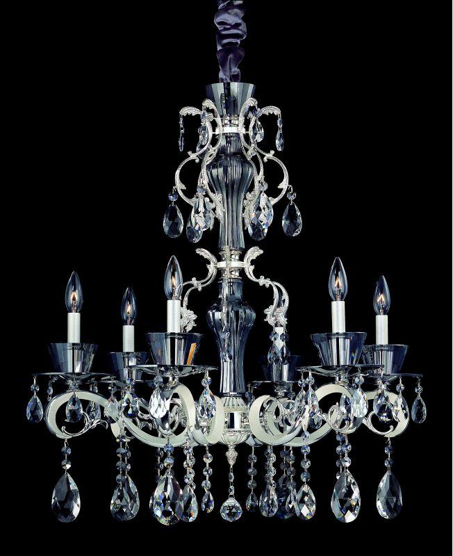 Allegri 10096 Locatelli 6 Light Single Tier Chandelier Two-Tone Silver Sale $3108.00 ITEM: bci2254505 ID#:10096-017-FR001 UPC: 720062012666 :