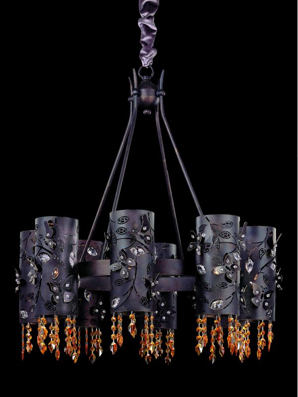 Allegri 10279 Franchetti 8 Light Single Tier Chandelier Sienna Bronze Sale $3028.00 ITEM: bci2254550 ID#:10279-013-SE017 UPC: 720062014561 :