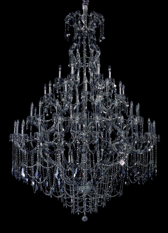 Allegri 10319 Brahms 66 Light Four Tier Chandelier Chrome with Smoke Sale $22114.00 ITEM: bci2254561 ID#:10319-010-FR006 UPC: 720062015346 :