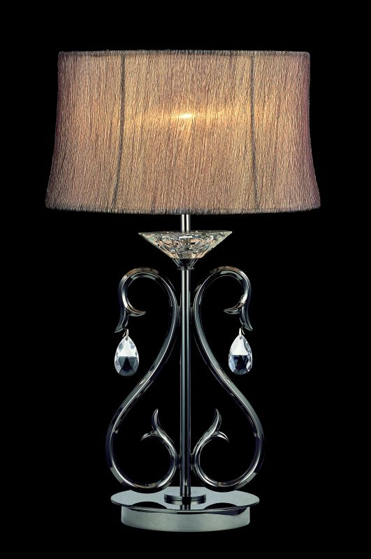 Allegri 10378 Cesti 1 Light Table Lamp Black Pearl with Clear Sale $360.00 ITEM: bci2254593 ID#:10378-007-SE001 UPC: 720062017142 :