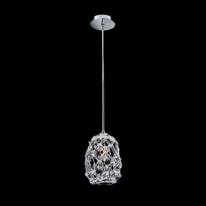 Allegri 11102 Veronese 1 Light Mini Pendant Chrome with Firenze Mix Sale $206.00 ITEM: bci2254717 ID#:11102-010-FR000 UPC: 720062021057 :