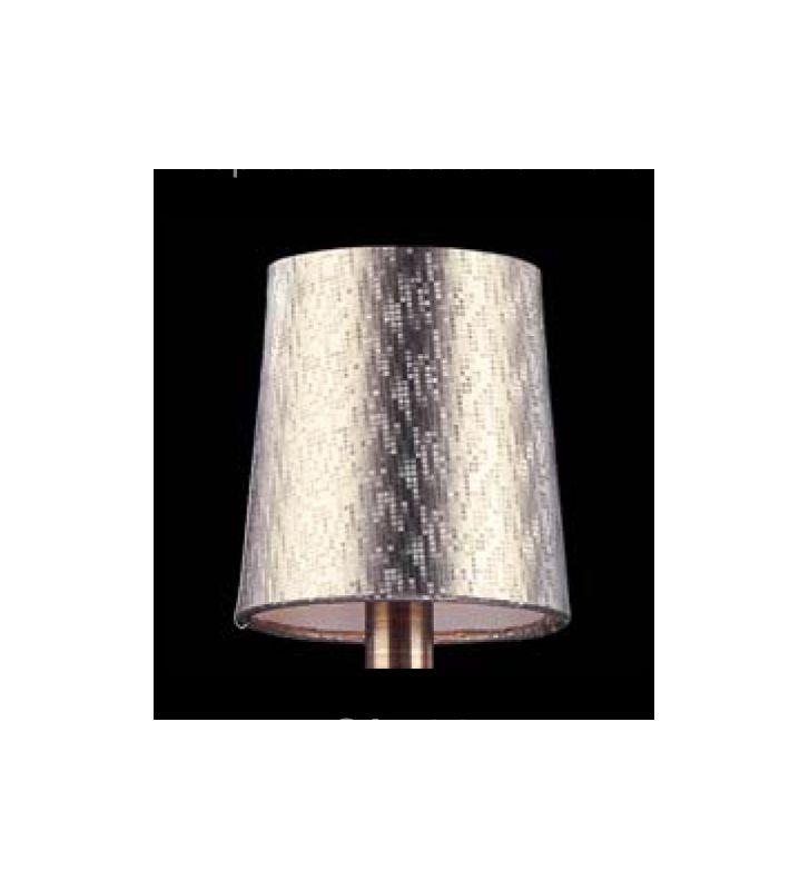 Allegri SA133 Bundle of Six Accessory Fabric Candelabra Shades N/A