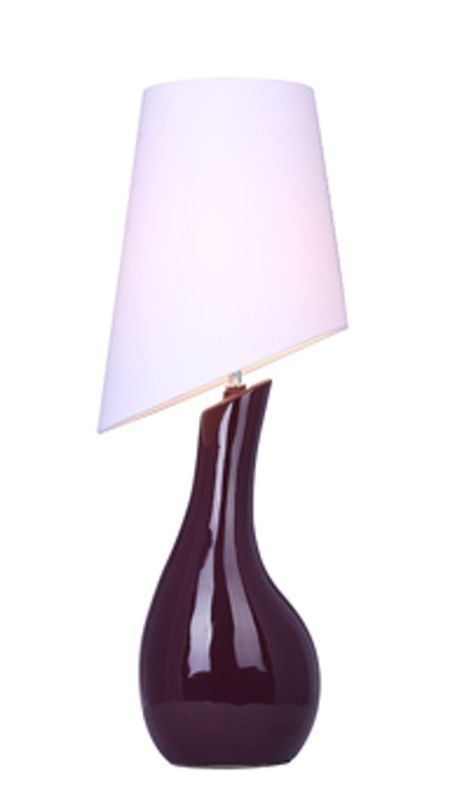 "All the Rages LT1040 Elegant Designs 28.74"" Height 1 Light Table Lamp"