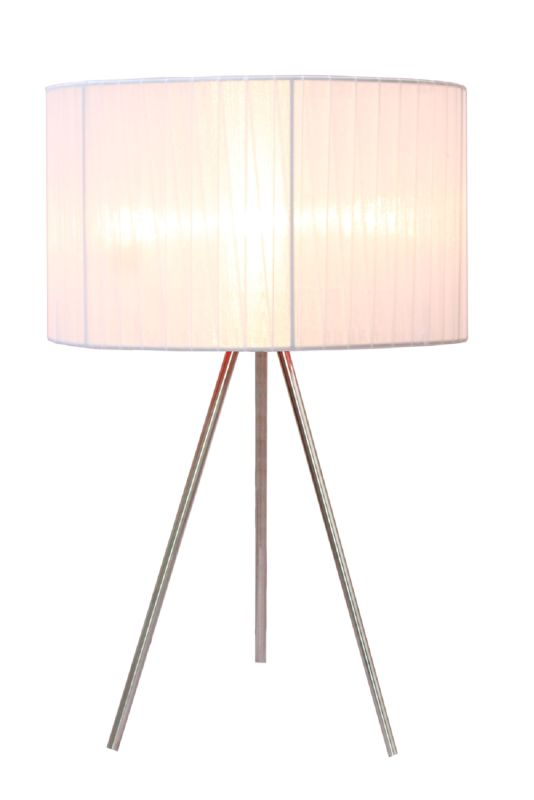 "All the Rages LT2006 Simple Designs 19.69"" Height 1 Light Table Lamp"