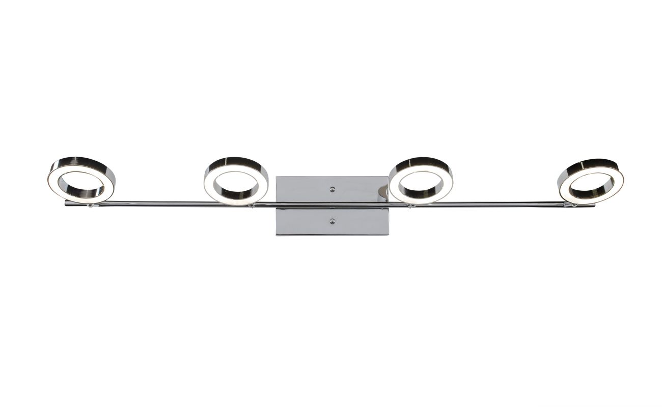 Alternating Current AC1164 Halo 4 Light LED Bathroom Vanity Light