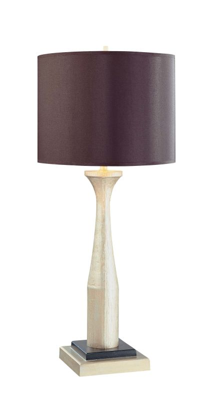 """Ambience 10207 1 Light 29.75"""" Height Table Lamp Antique Silver Lamps"""