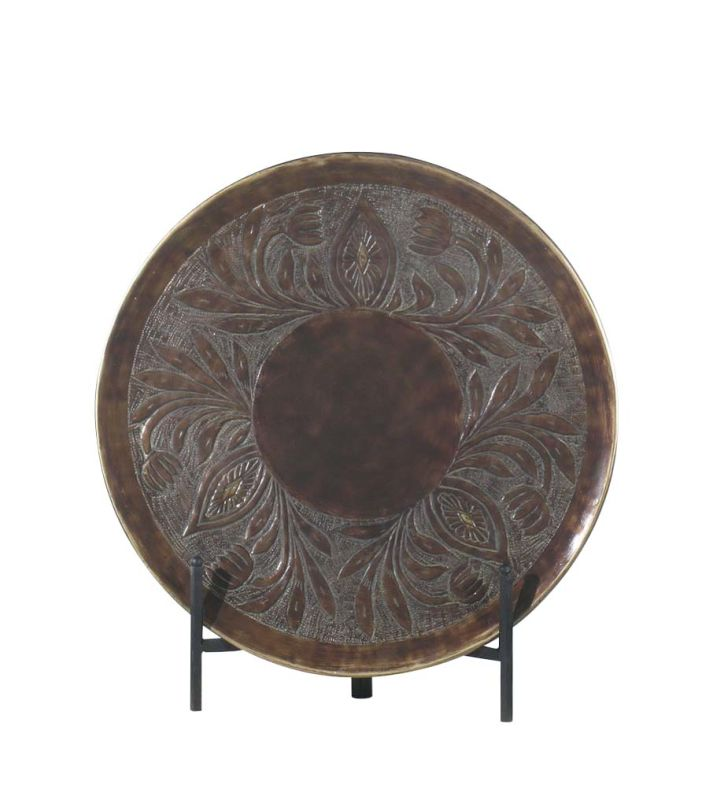 Ambience AM 40831 Traditional/Classic Charger in Rustic Bronze Rustic Sale $111.92 ITEM: bci559564 ID#:40831-0 UPC: 840253040107 :