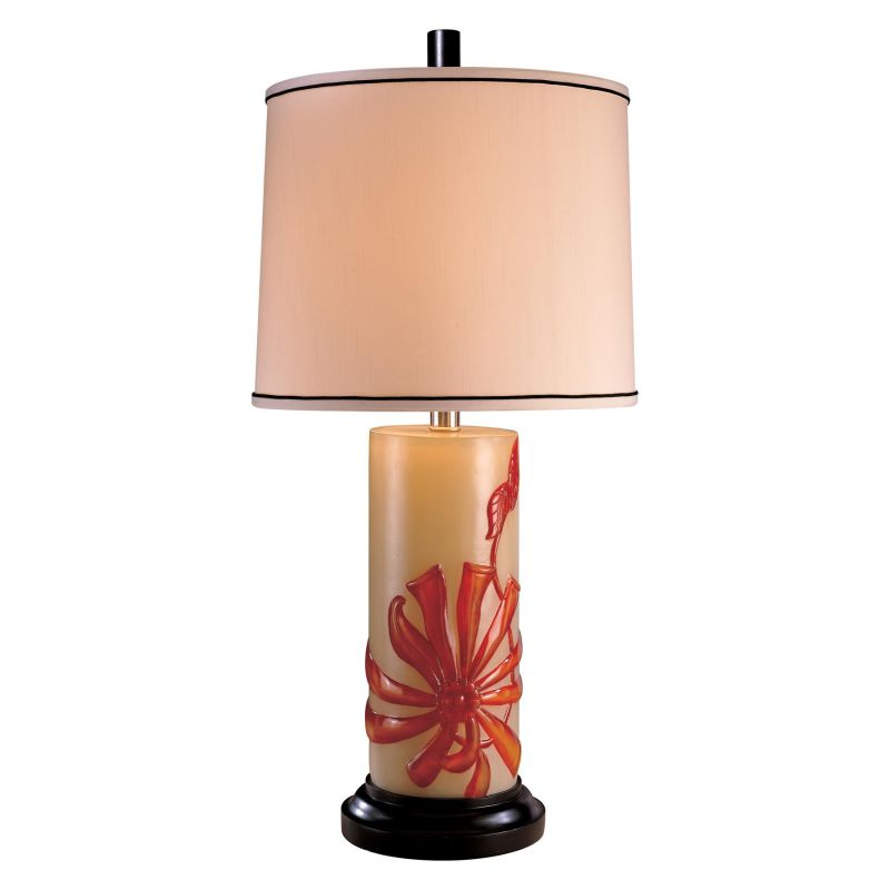 """Ambience AM 10953 1 Light 34"""" Height Table Lamp from the Casa Cristina"""