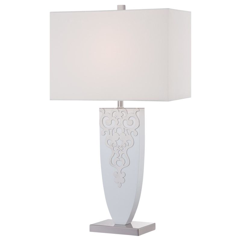 Ambience 12421-0 1 Light Accent Table Lamp Brushed Nickel Lamps Accent
