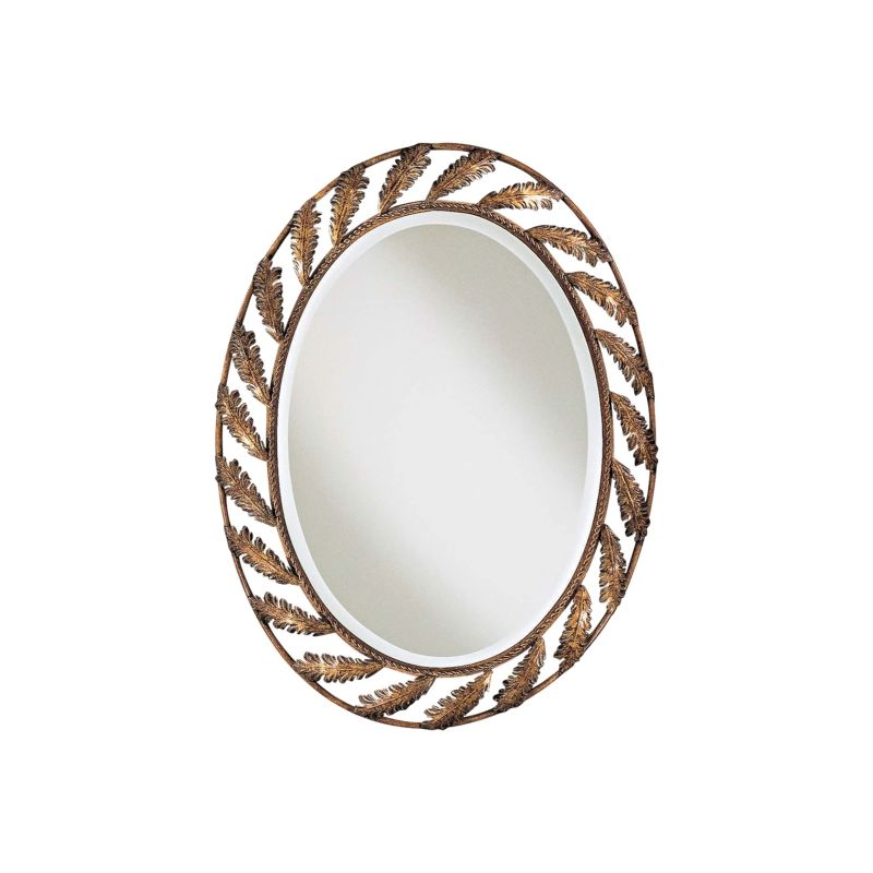 Ambience AM 56090 Victorian Style Oval Mirror Finished in Padova