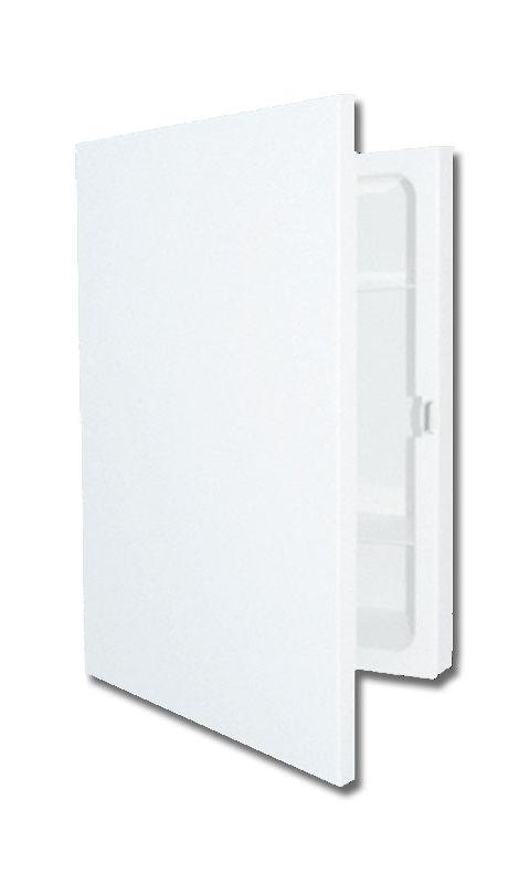 """American Pride 9604R1 16"""" x 22"""" Single Door Medicine Cabinet White"""