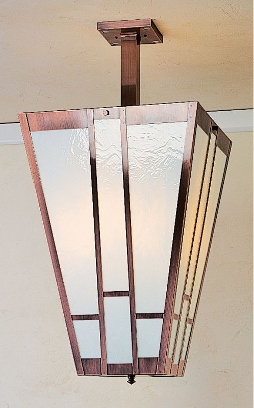 Arroyo Craftsman AIH-16 Craftsman / Mission Semi-Flush Ceiling Fixture