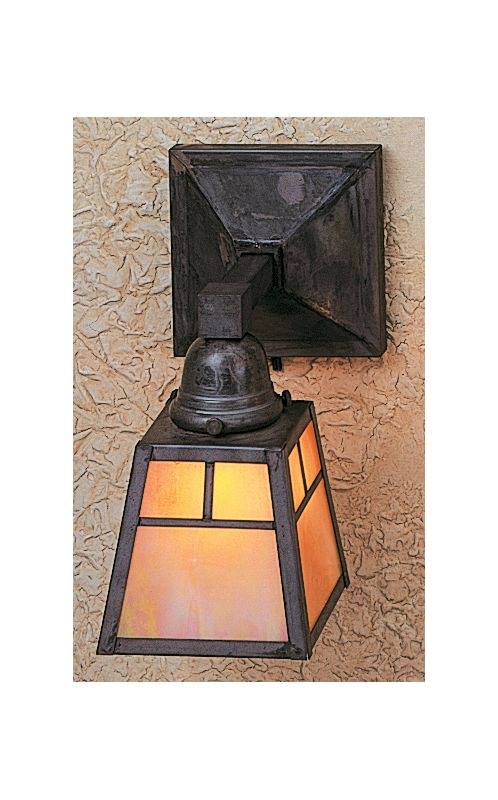 Arroyo Craftsman AS-1 Craftsman / Mission Down Lighting Wall Sconce