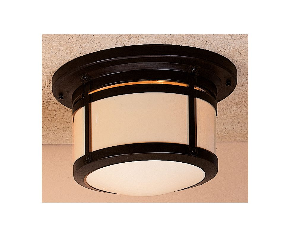 Arroyo Craftsman BCM-12 Craftsman / Mission Flushmount Ceiling Fixture