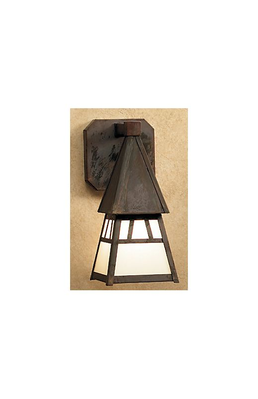 Arroyo Craftsman DS-4 Asian Themed 1 Light Outdoor Wall Sconce from