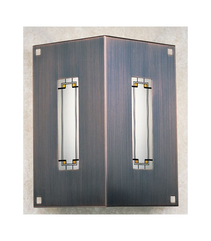 Arroyo Craftsman FS-2/2-13 Stained Glass / Tiffany Wall Washers Wall
