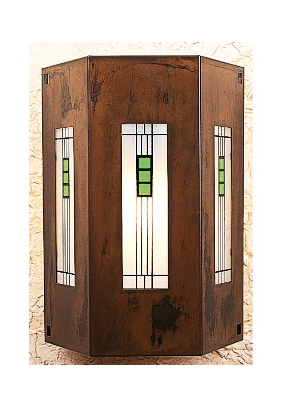 Arroyo Craftsman FS-3/3 Stained Glass / Tiffany Wall Washers Wall