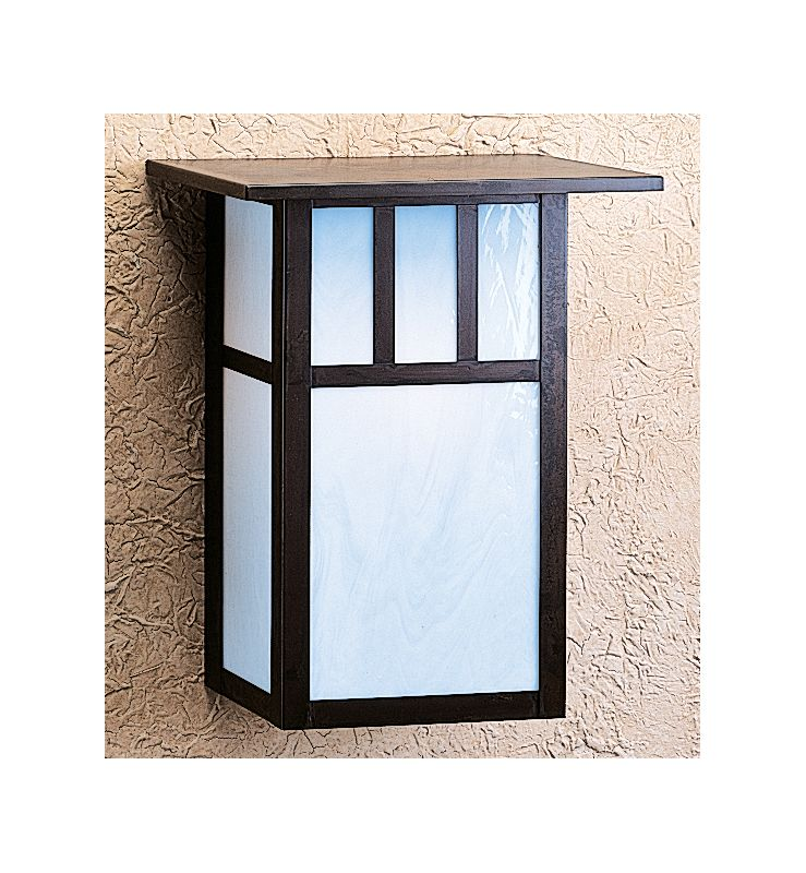 Arroyo Craftsman HS-12 Craftsman / Mission 1 Light Outdoor Wall Sconce