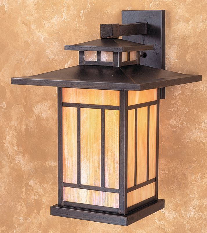 Arroyo Craftsman KB-12 Craftsman / Mission 1 Light Outdoor Wall Sconce