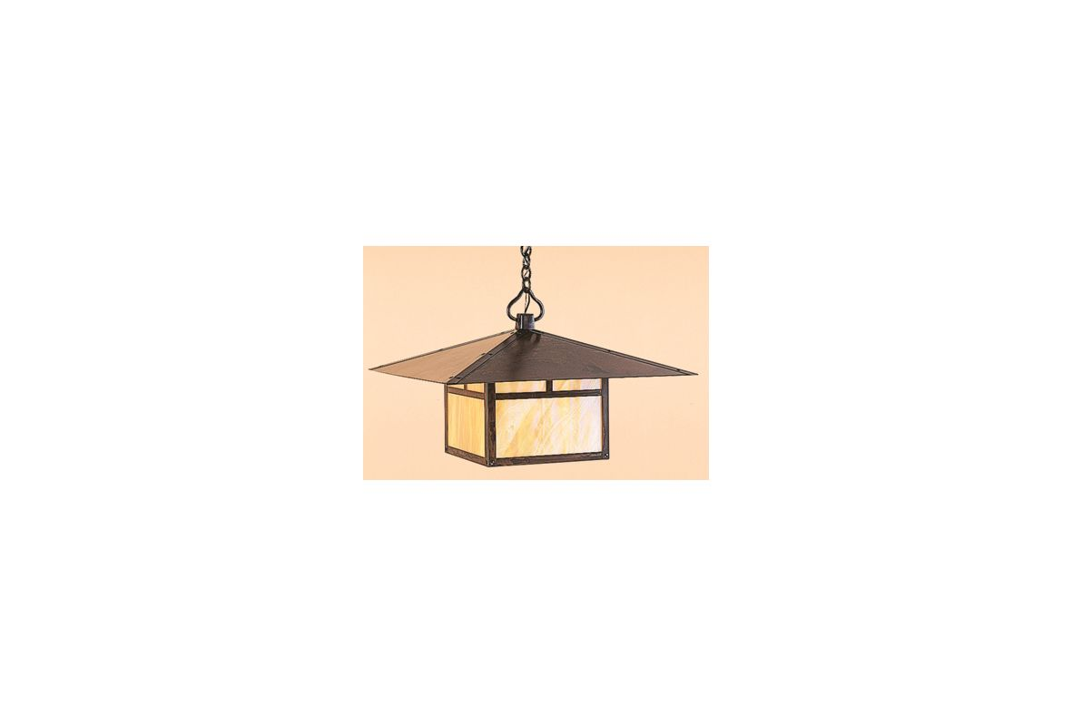 Arroyo Craftsman MH-24 Asian Themed Single Light Pendant from the