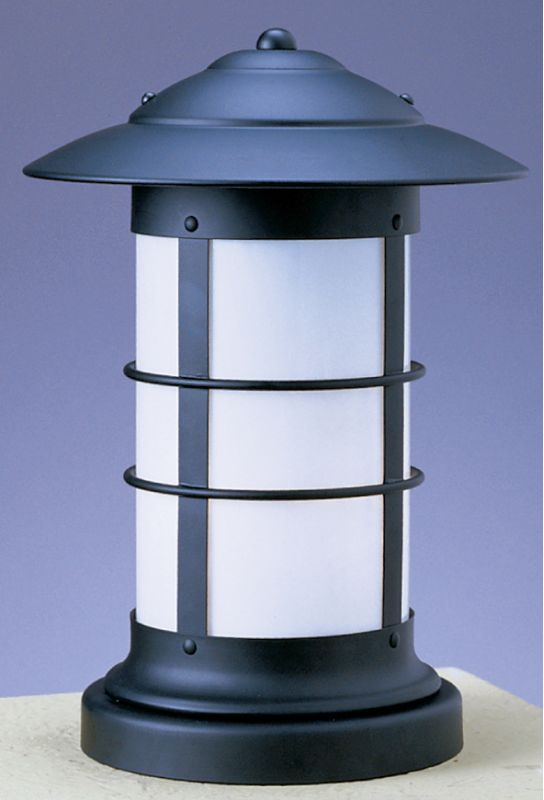 Arroyo Craftsman NC-14L 1 Light Post Light from the Newport Collection