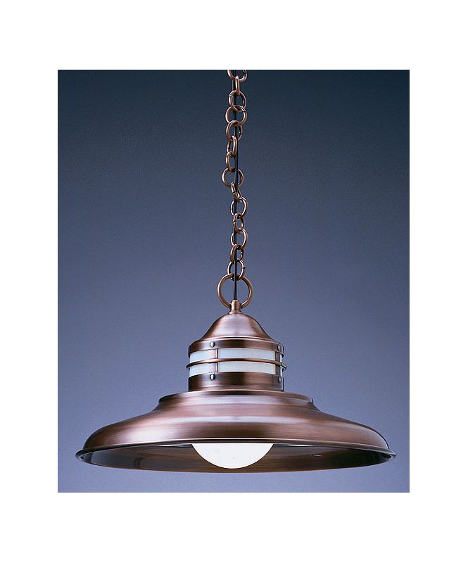 Arroyo Craftsman NH-17 1 Light Outdoor Pendant from the Newport