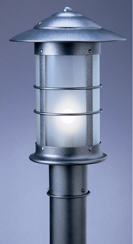 Arroyo Craftsman NP-9 1 Light Post Light from the Newport Collection Sale $420.00 ITEM: bci354216 ID#:NP-9-BK :