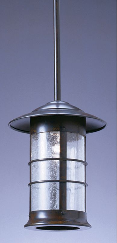 Arroyo Craftsman NSH-9L 1 Light Outdoor Pendant from the Newport