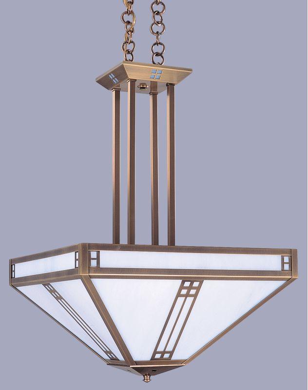 Arroyo Craftsman PCCH-18 Craftsman / Mission Four Light Bowl Pendant