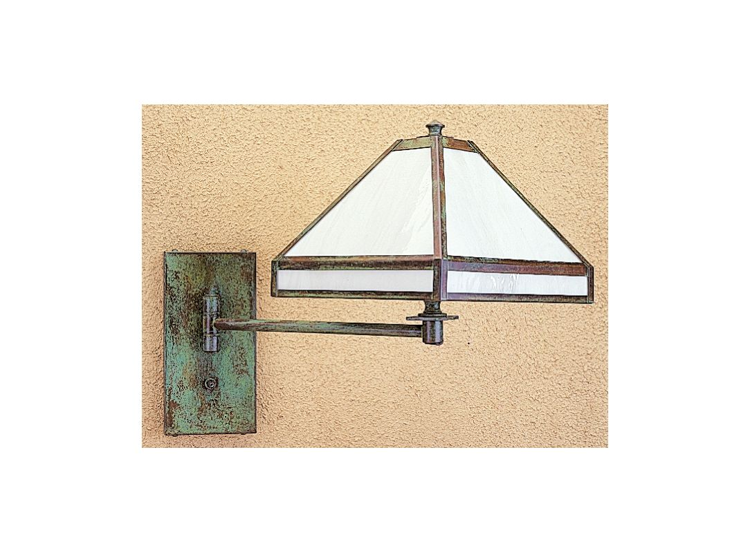 Arroyo Craftsman PSA-1 Craftsman / Mission Swing Arm Wall Sconce from