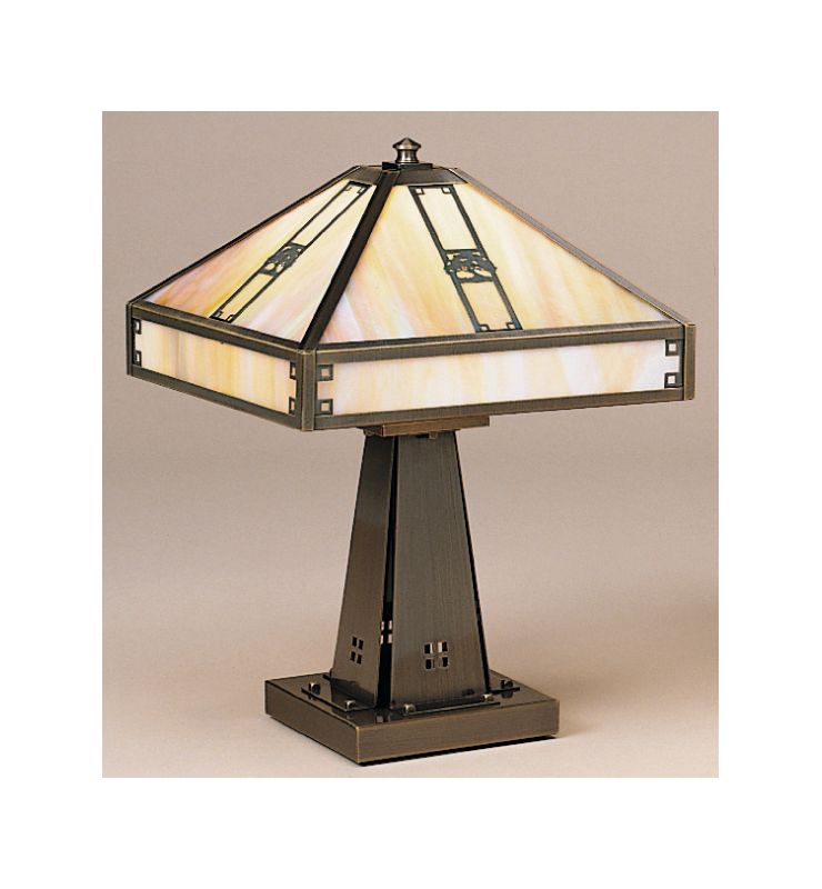 Arroyo Craftsman PTL-11 Craftsman / Mission Accent Table Lamp from the